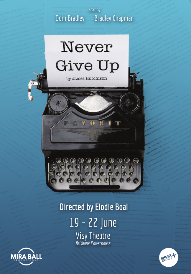 Never Give Up (MBP) Poster